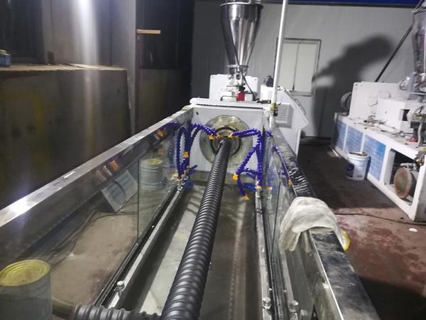 双螺杆预应力塑料波纹管设备
